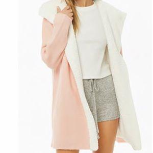 Soft baby pink cardigan